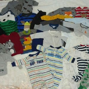 HUGE baby boy lot, 85 pieces